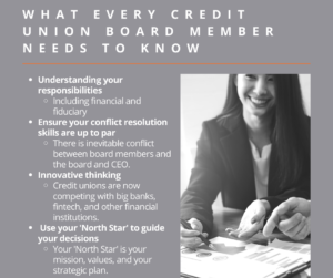 What Every Credit Union Board Member Needs to Know